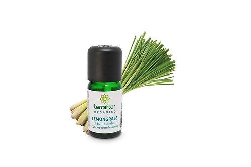 Óleo Essencial Lemongrass (Capim limão) orgânico 10ml