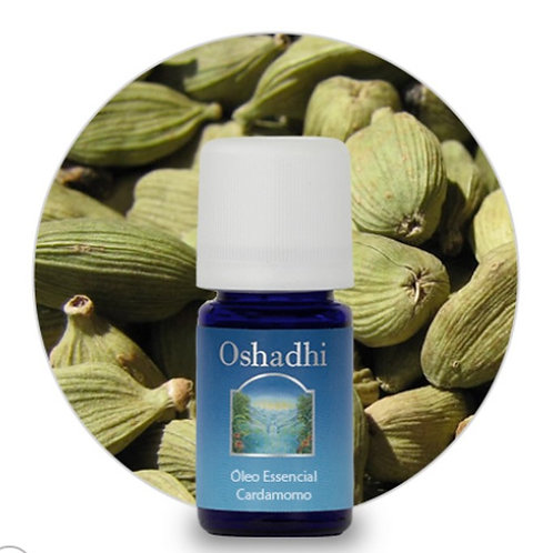 oleo essencial Cardamomo 5ml oshadhi