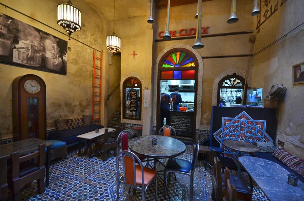 CAFÉ CLOCK fes morocco