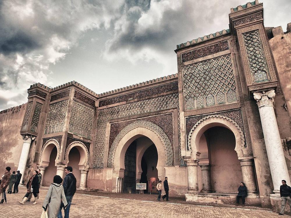 Bab al-Mansur meknes
