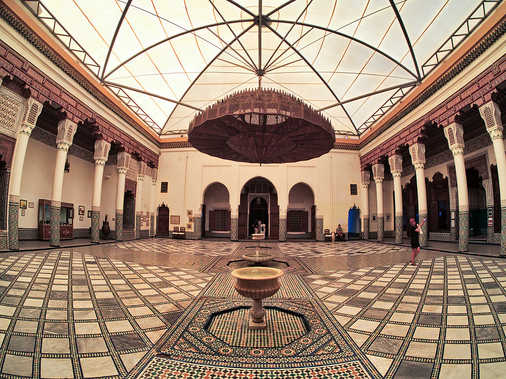 Museum of marrakech morocco