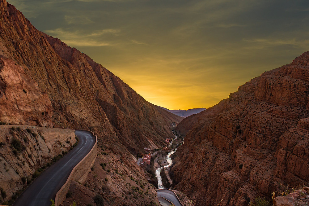 The Dades Gorges morocco