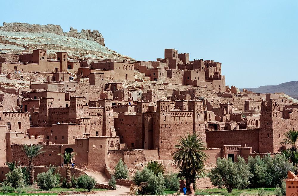 Ben hadou kasbah morocco