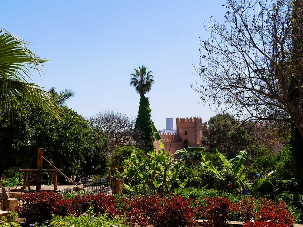 The Andalusian Gardens in Rabat