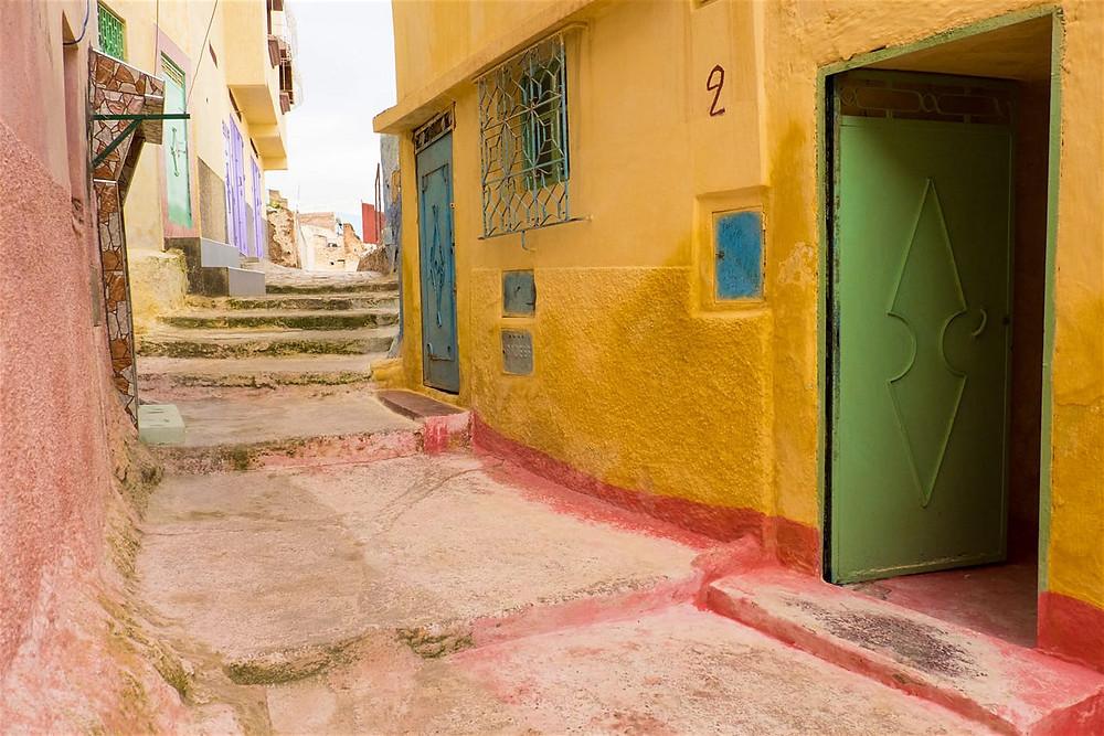 Bhalil village streets