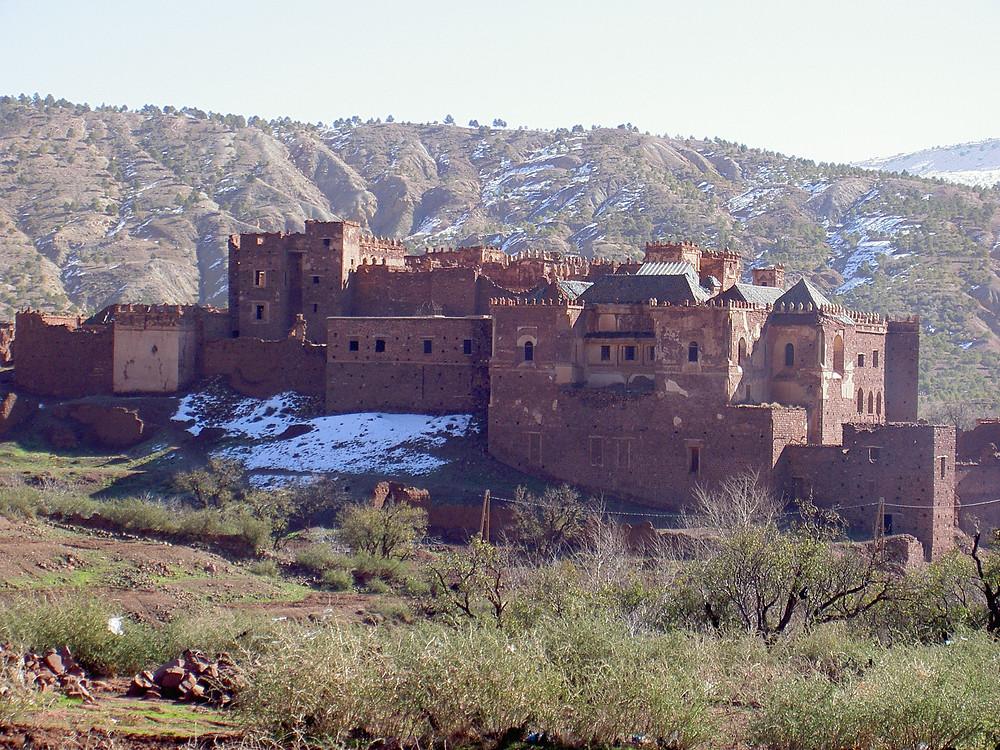 Glaoui kasbah morocco