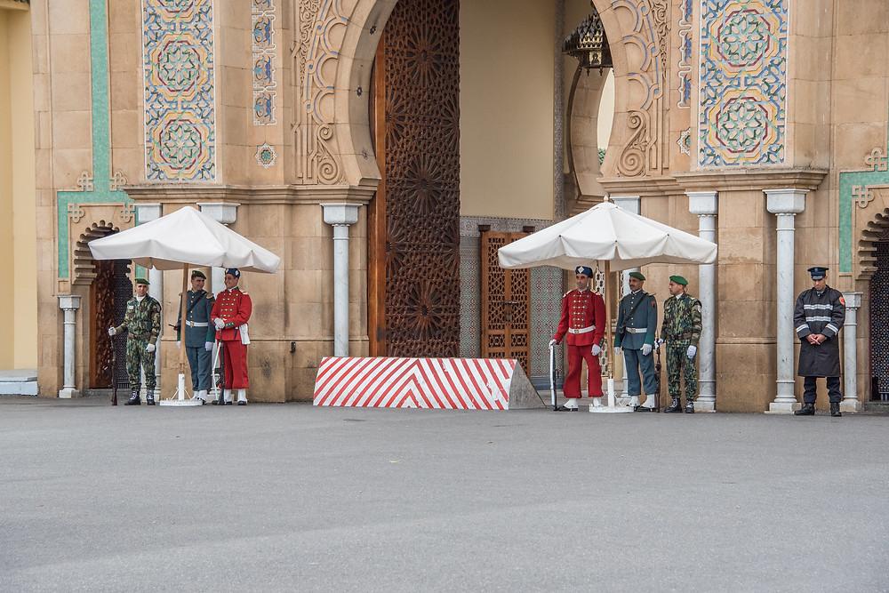 royal palace in Rabat, Morocco