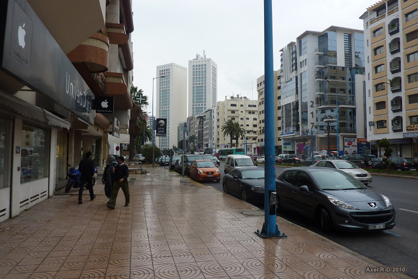 casablanca center morocco