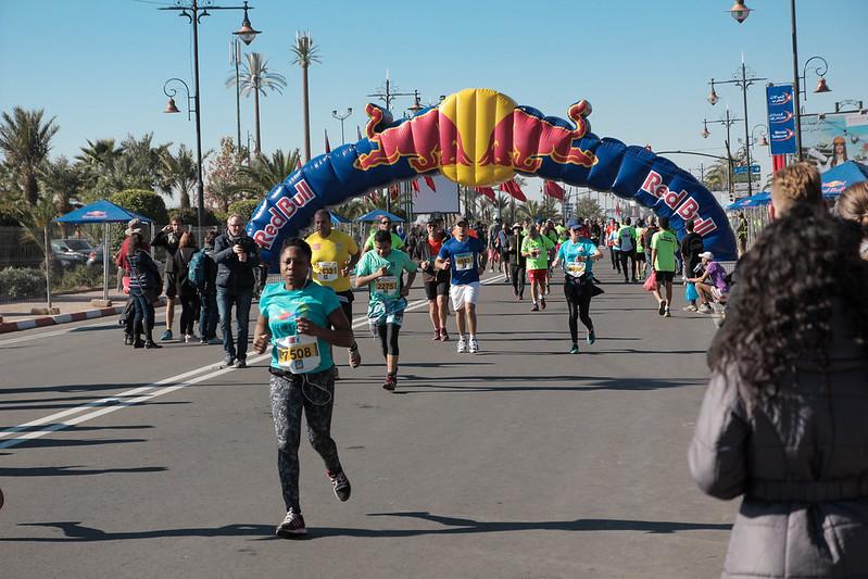 Marrakech Marathon, Menara