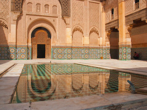Ben Youssef Madrassa | The first islamic school in Marrakech, Morocco