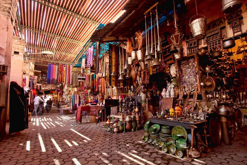 medina souks marrakech