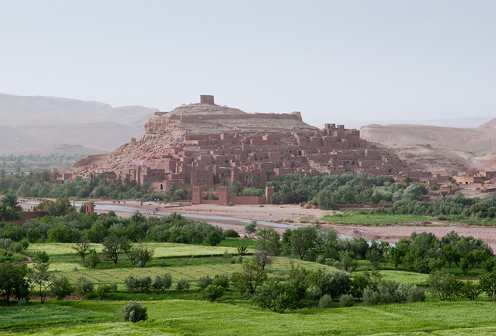 Ksar of Ait Ben Haddou in Marrakech, Morocco
