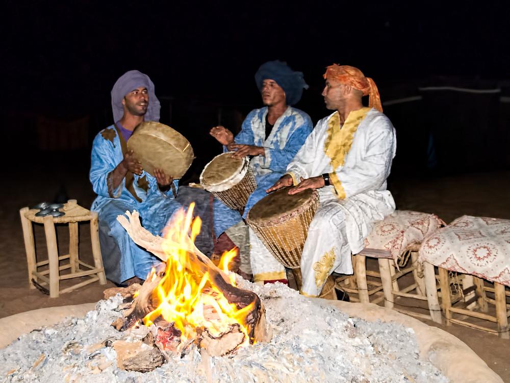 Erg Chigaga in Moroccan Sahara