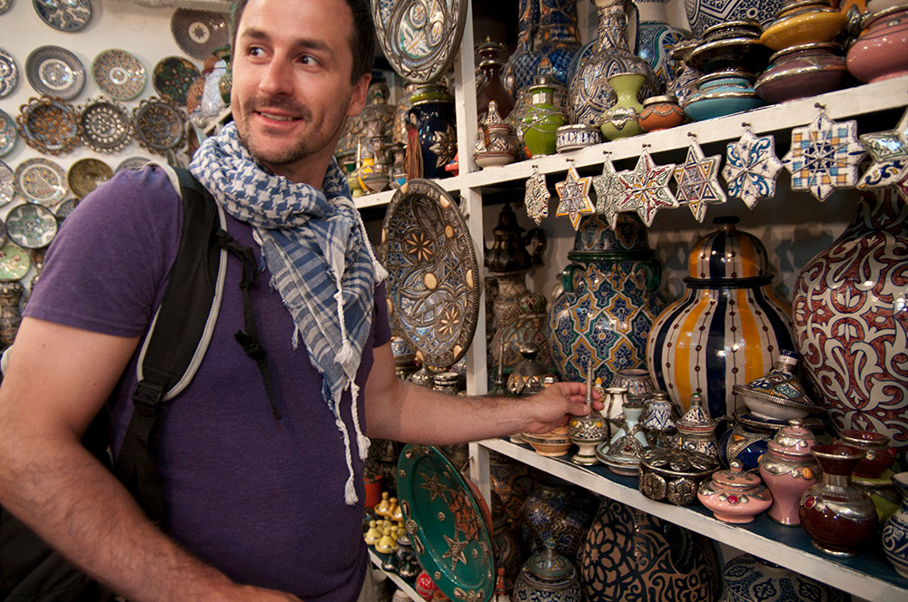 Bargaining in Morocco