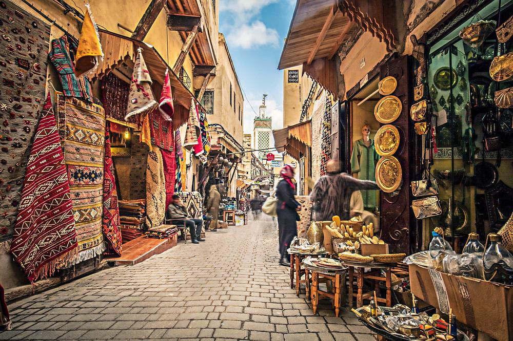 Berber crafts souks morocco