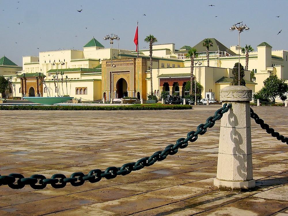 The Royal Palace of Rabat