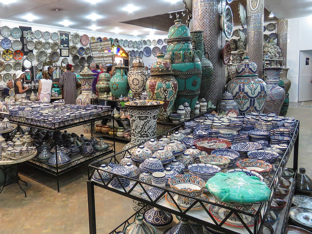 Ceramics and pottery in morocco