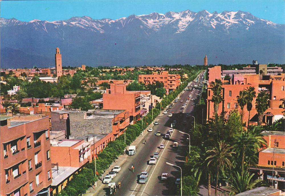 Gueliz District marrakech