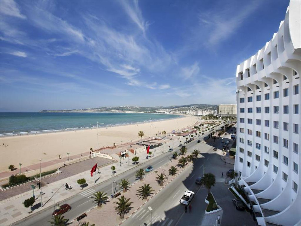 beach boulevard tangier morocco