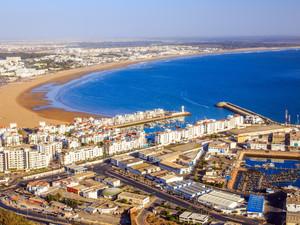 Top 4 neighborhoods to stay in Agadir, Morocco