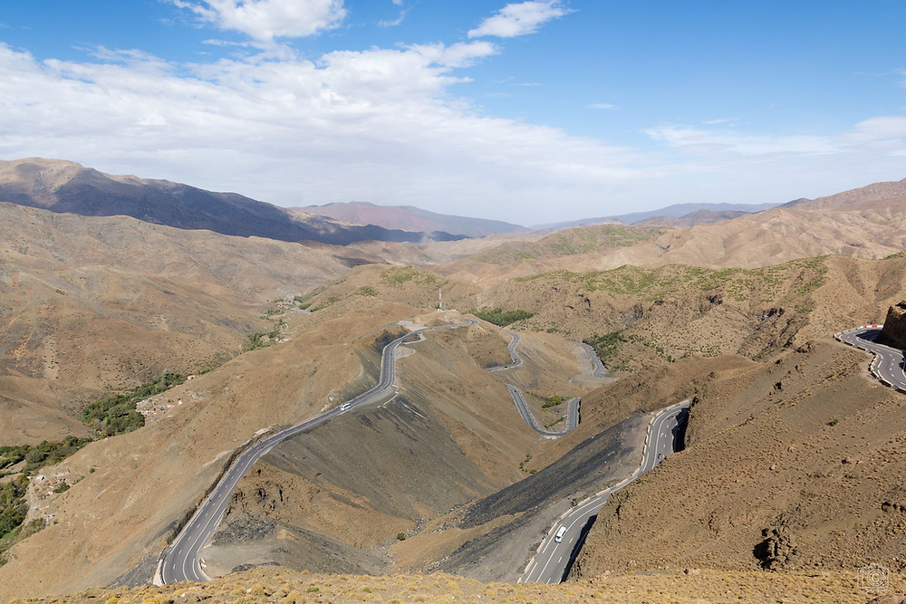 Amazing Atlas-Mountains roads