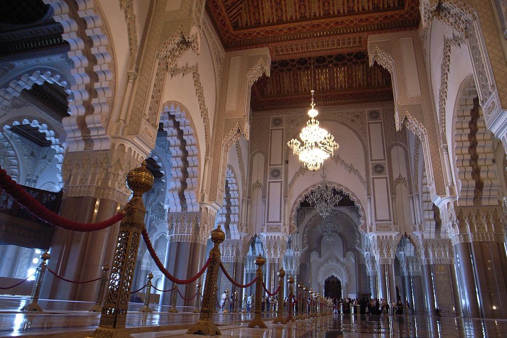 Hassan II Mosque in Casablanca, Morocco