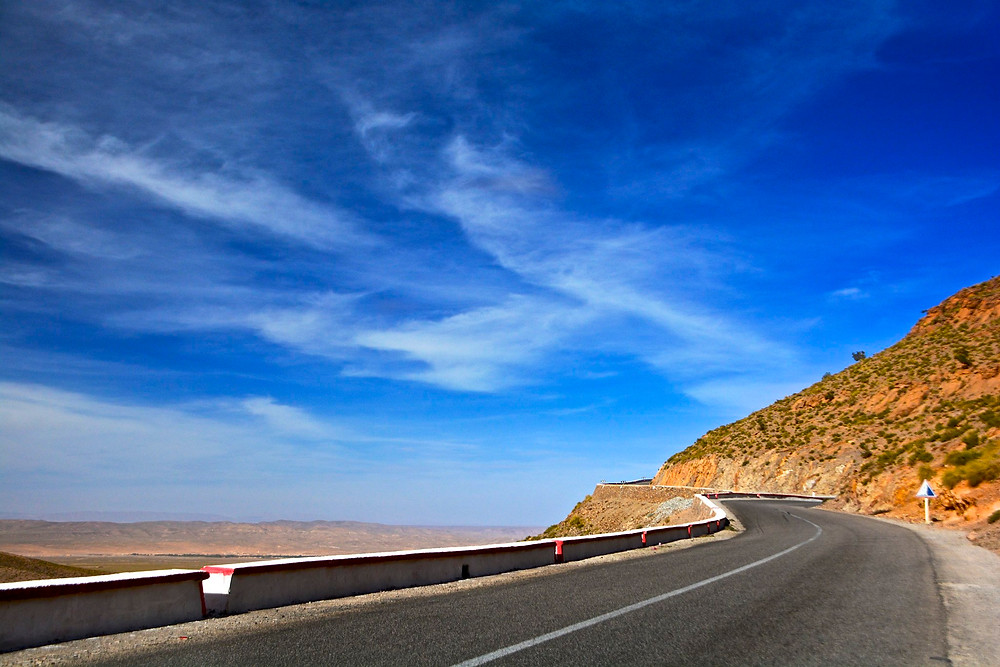 morocco roads and highways