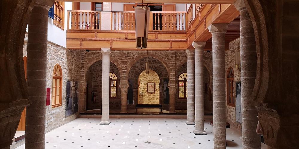 The synagogue of Simon Attias essaouira