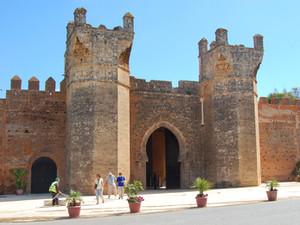 Chellah Necropolis   The ancient Roman city in Rabat, Morocco