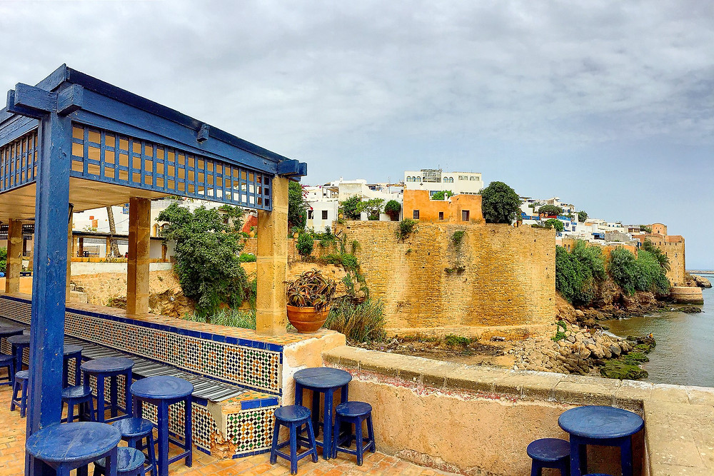Kasbah of Oudaya in Rabat, Morocco