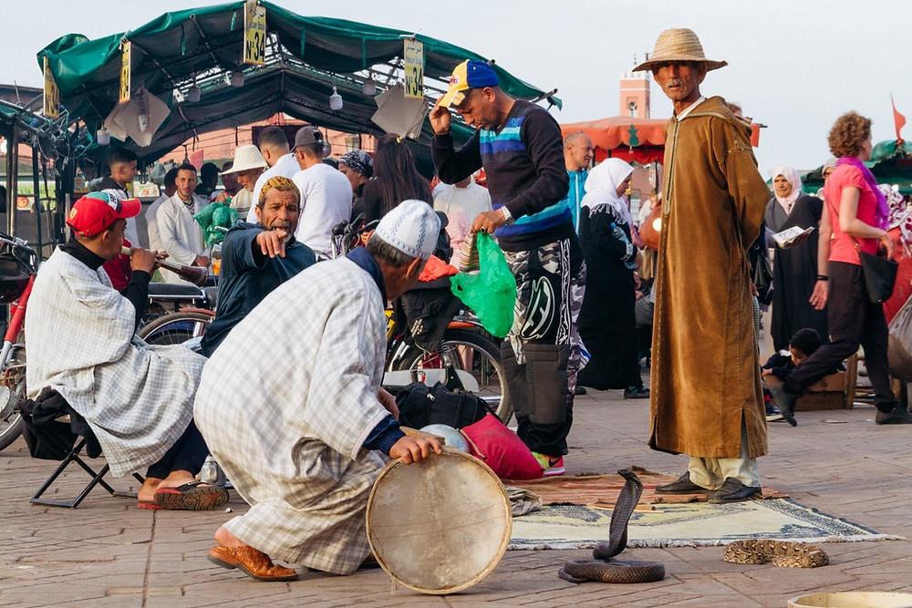 Marrakesh souks