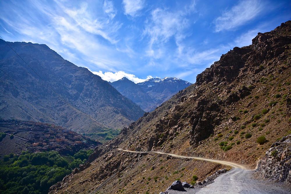 Jebel Toubkal in Morocco