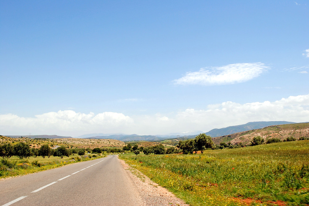 The Road to Ouzoud