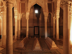 The tombs of Saadians | The great dynasty that ruled Marrakech, Morocco