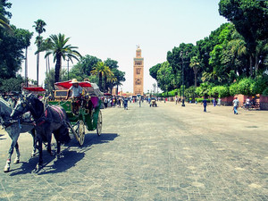 A quick trip through the history of Marrakech, Morocco