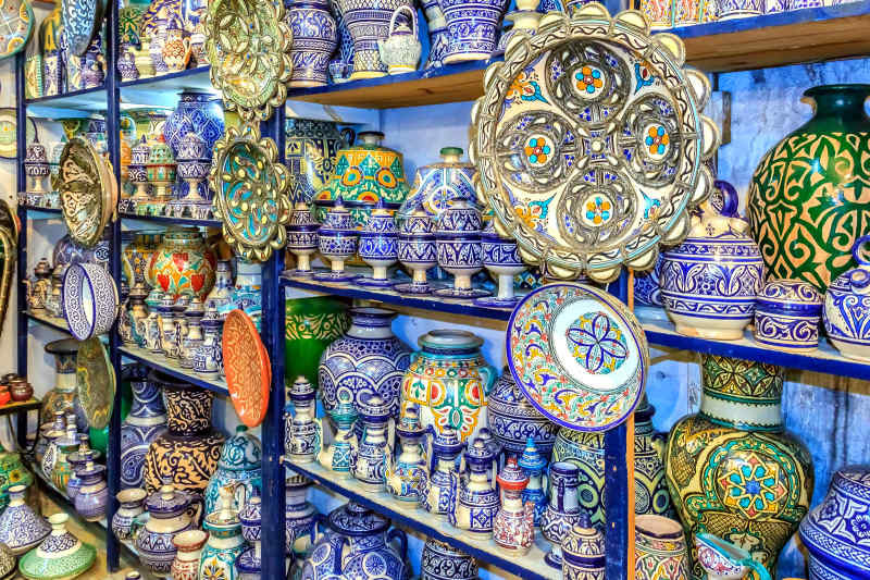buy souvenirs from morocco