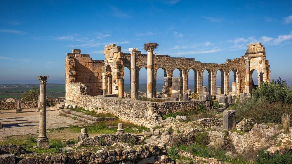 The Ancient Roman City Volubilis