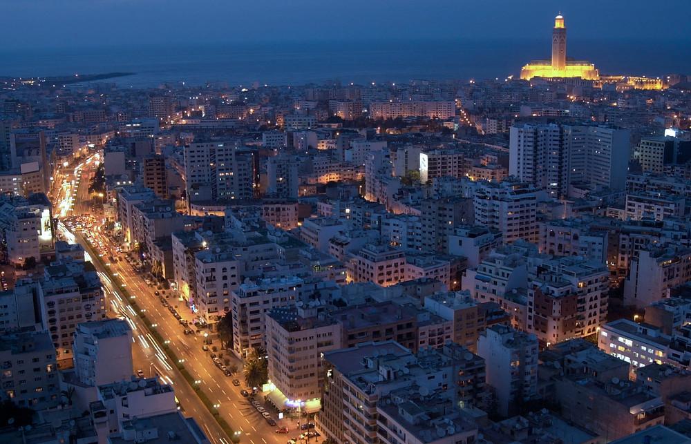 trip to Casablanca, Morocco