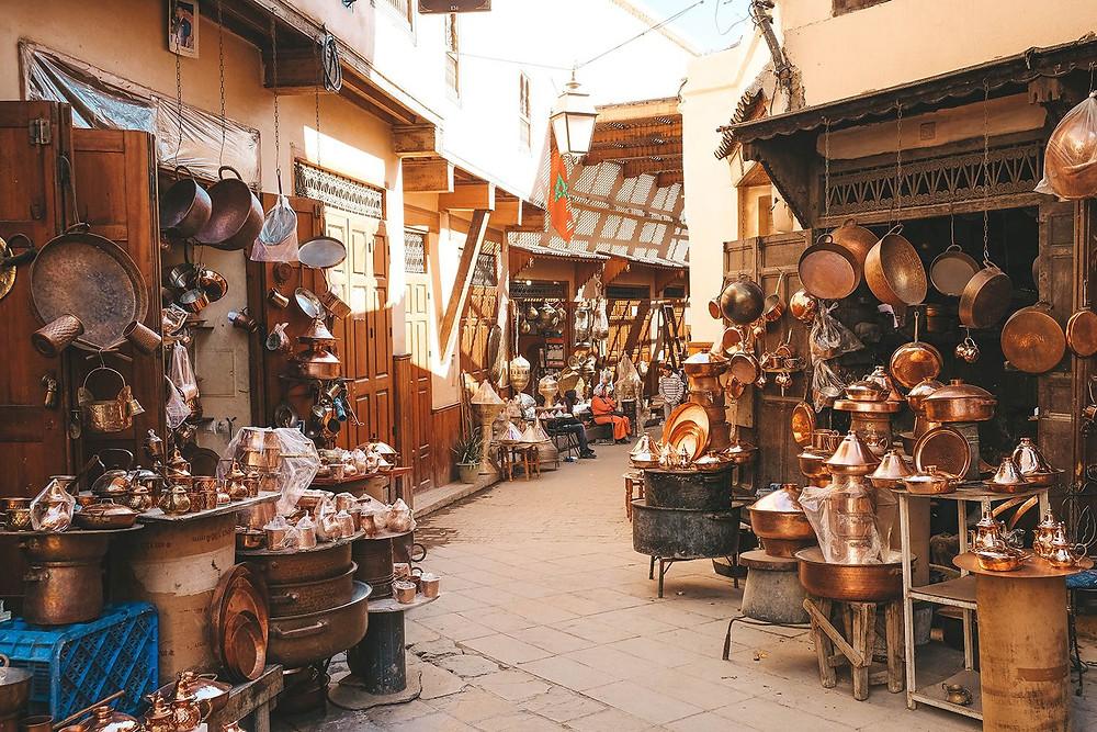 fes morocco Seffarin District