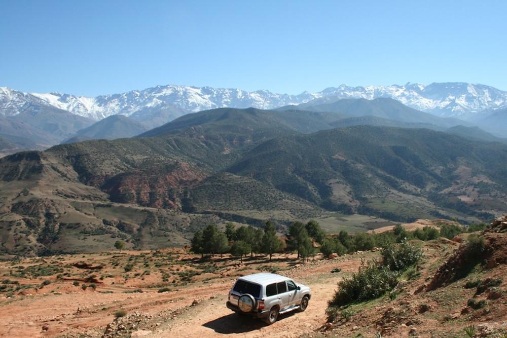Atlas Mountains suv tour morocco