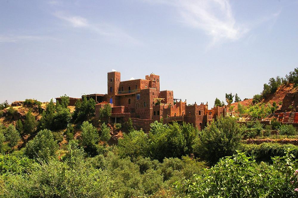 Kasbahs of Atlas morocco