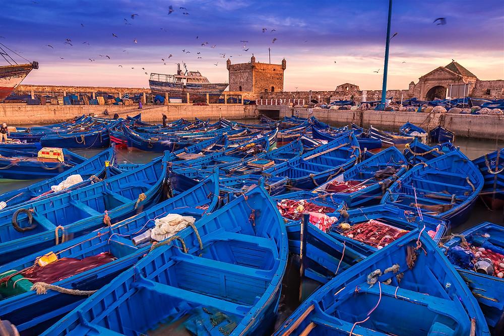 Tourism in Essaouira, Morocco