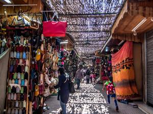 Rue des Consuls | The best craft Souk in Rabat, Morocco