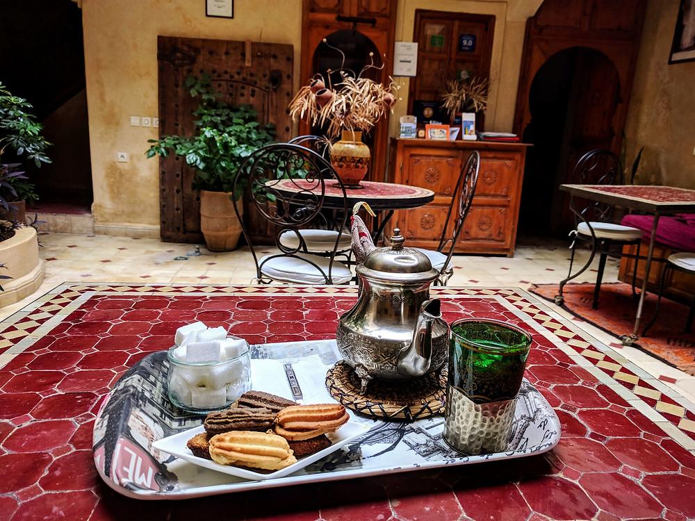 moroccan tea marrakech
