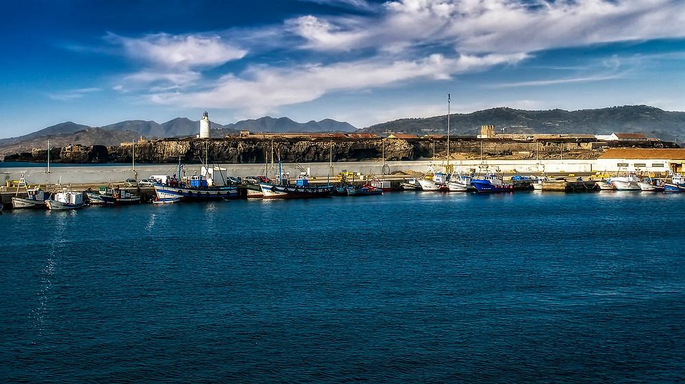 tangier fishing port morocco
