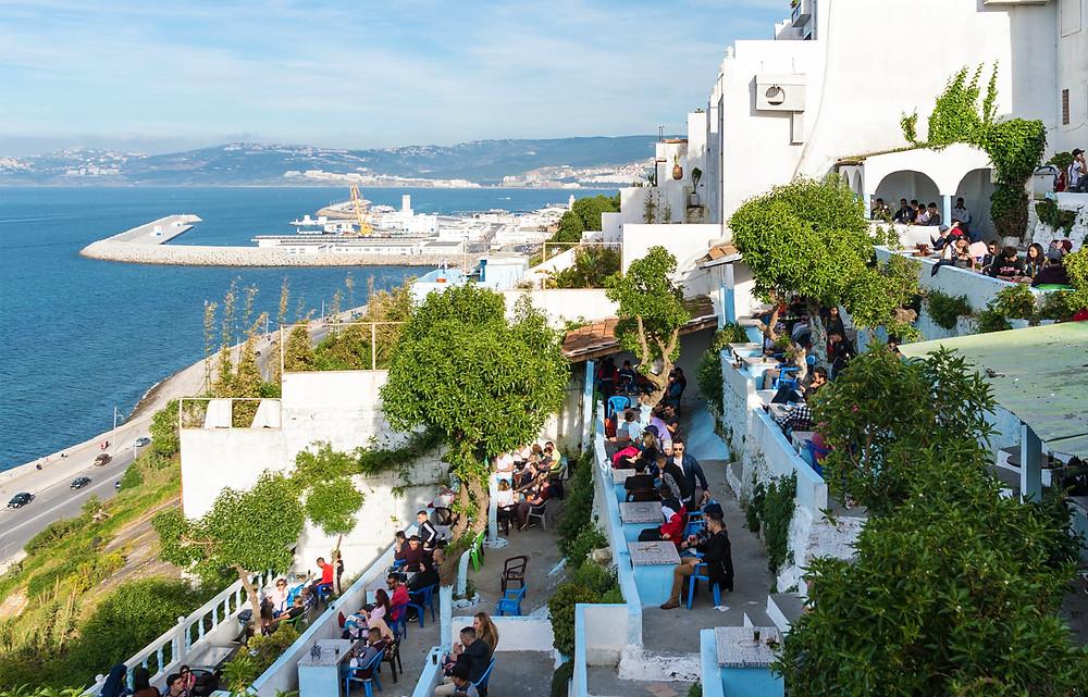 Cafe El-Hafa tangier morocco