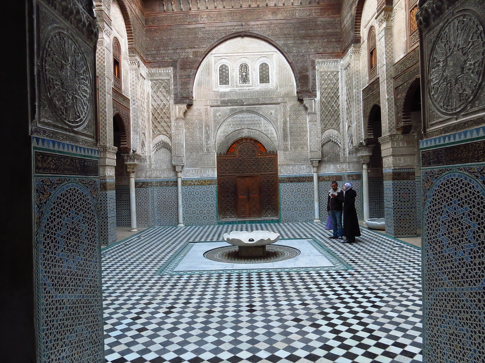 fes morocco madrasa