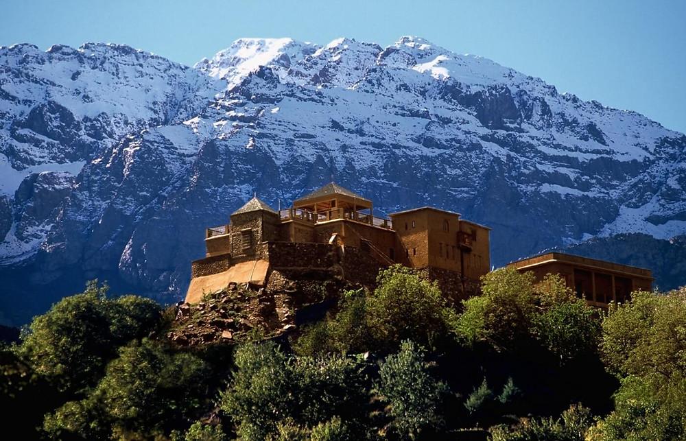 Kasbah of Toubkal morocco