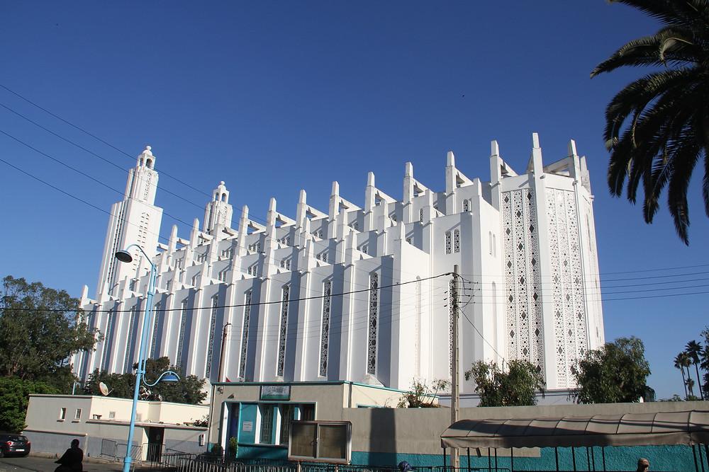 The Church of the Sacred Heart casablanca