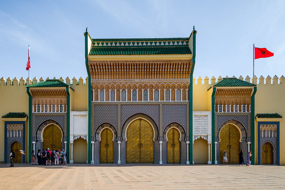 royal palace fes morocco